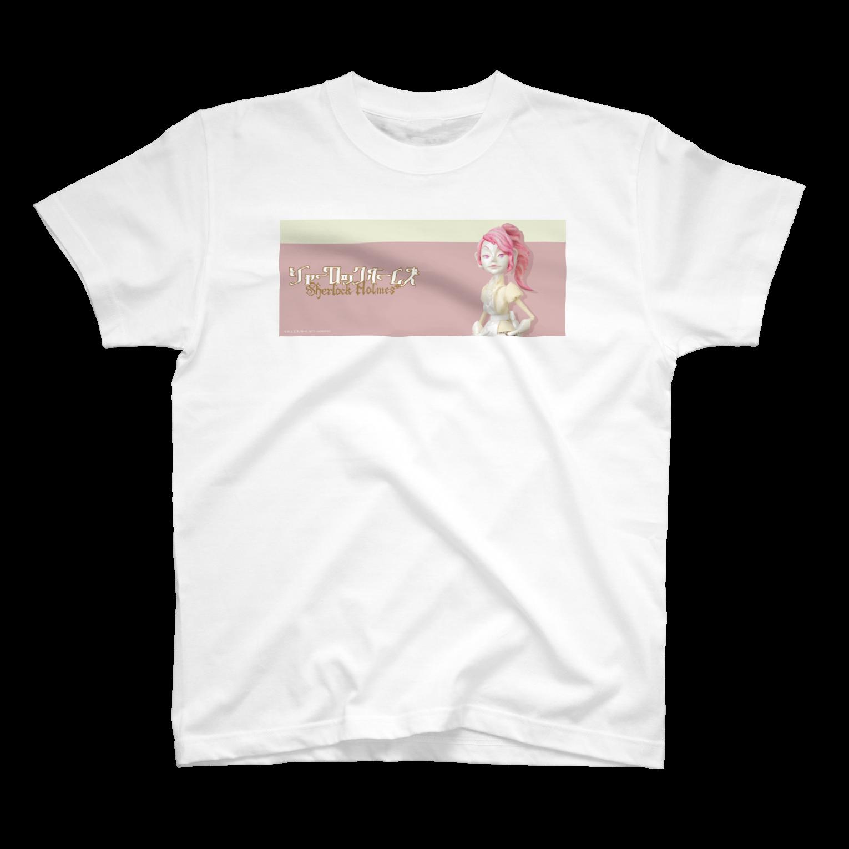sherlockgakuenのIrene AdlerTシャツ