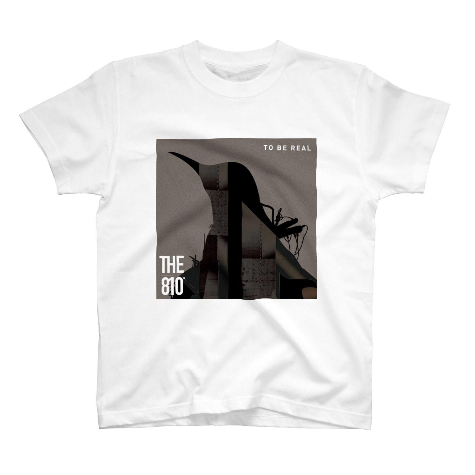 THE810xのTO BE REAL Tシャツ
