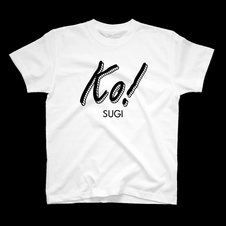 tocaiのkosugi Tシャツ
