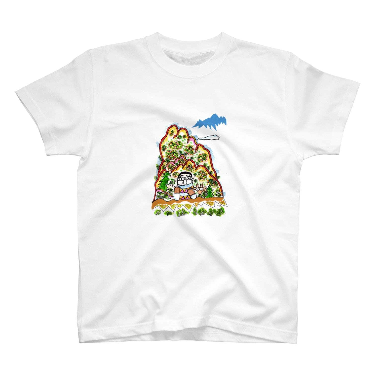 とよだ 時【ゆ-もぁ-と】の山旅漫画(4) Tシャツ