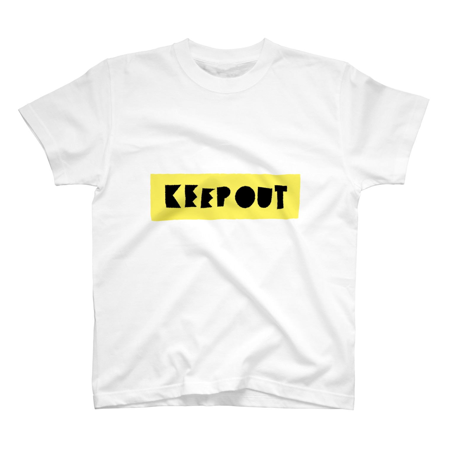 takeshitsuboiのKEEP OUT Tシャツ