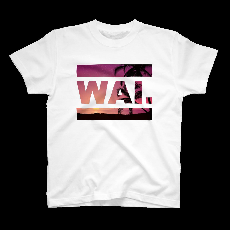 ワイのWAIT (ハワイアン)Tシャツ