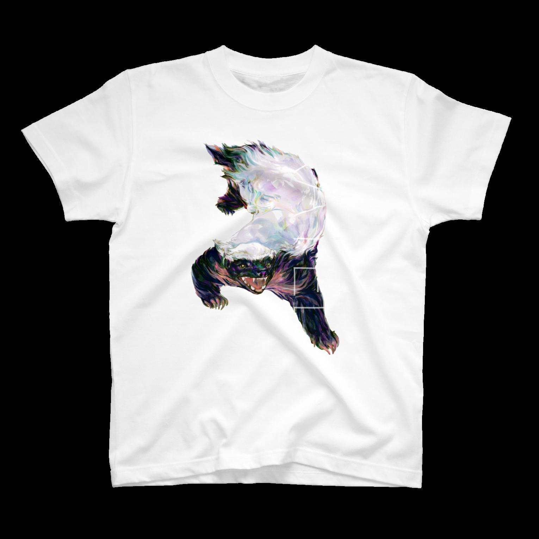 SHIMiZUのRATEL Tシャツ