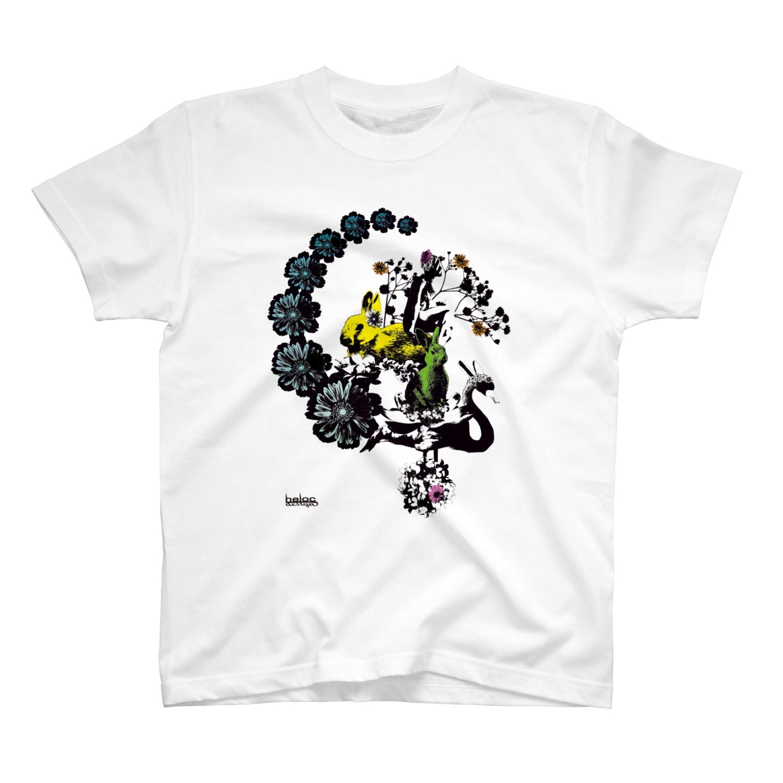 helocdesignのRabbit Tシャツ