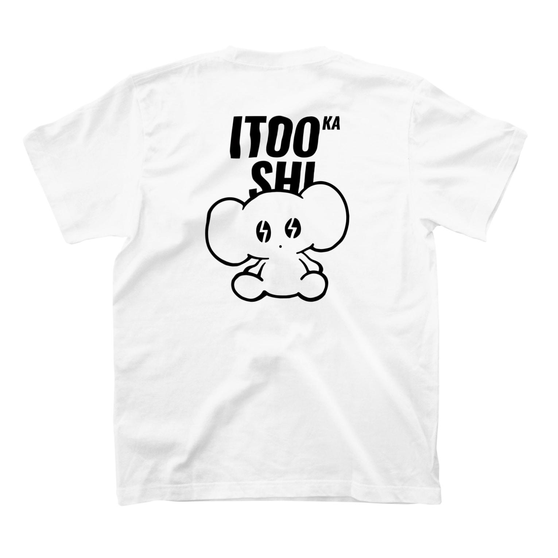 ITOOKASHIのITOOKASHI(BLACK) T-shirtsの裏面