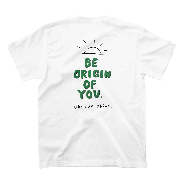 ORIGIN.の originT green2 T-shirtsの裏面