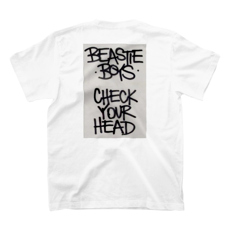 iheuyushi2のcheck your head T-shirts