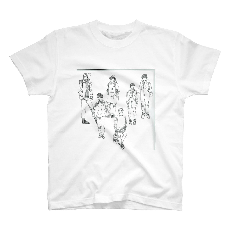 niiiiiiiigoのおしゃボーイ T-shirts