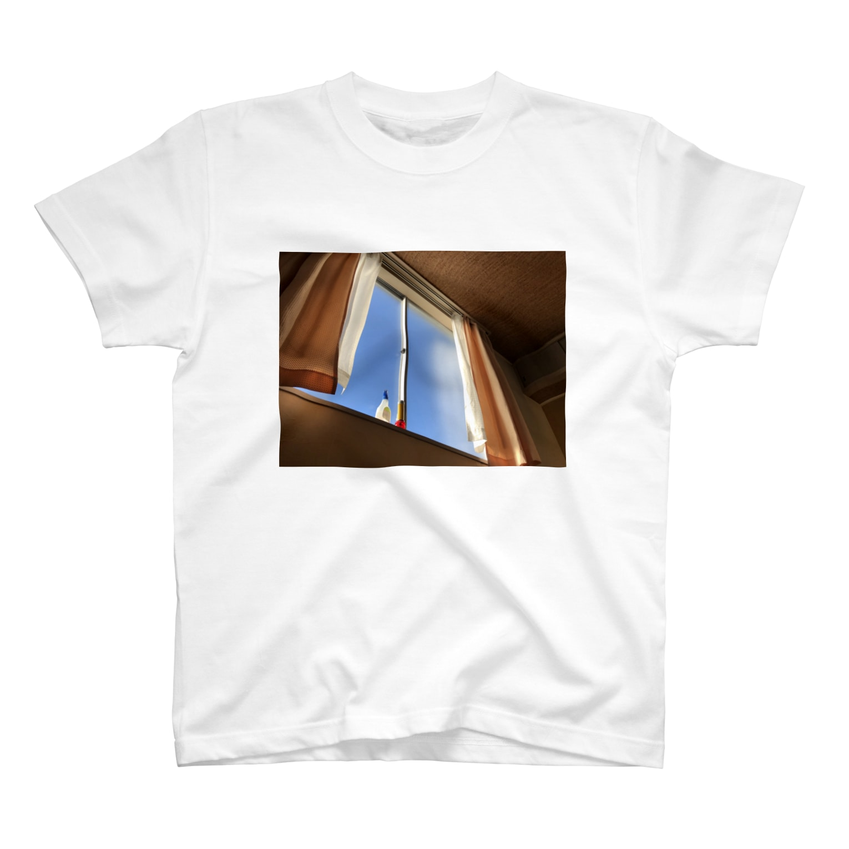 AHIRUpoppoのまどぎわ T-shirts