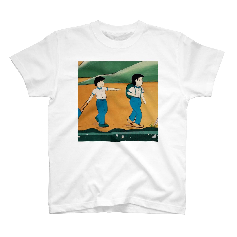 「渚の鉄槌」オフィシャルショップのここらへん T-shirts