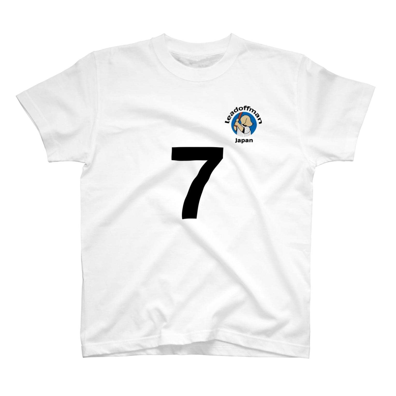 efrinmanのリードオフマン黒(オット用) Tシャツ