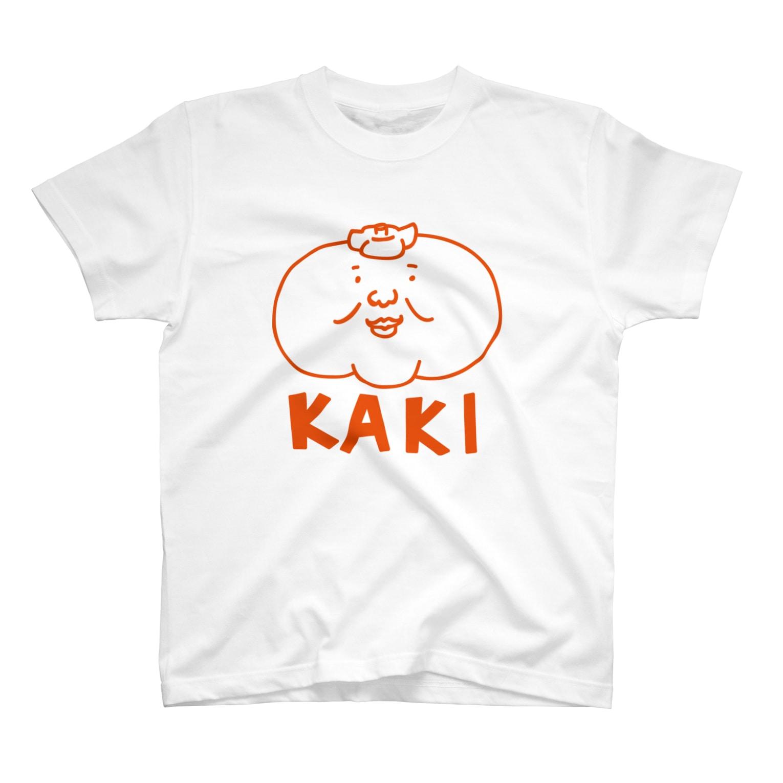 mogulのKAKI T-shirts