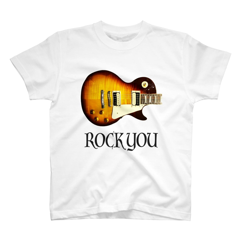 Kengo KitajimaのROCK YOU 背景透過 Tシャツ