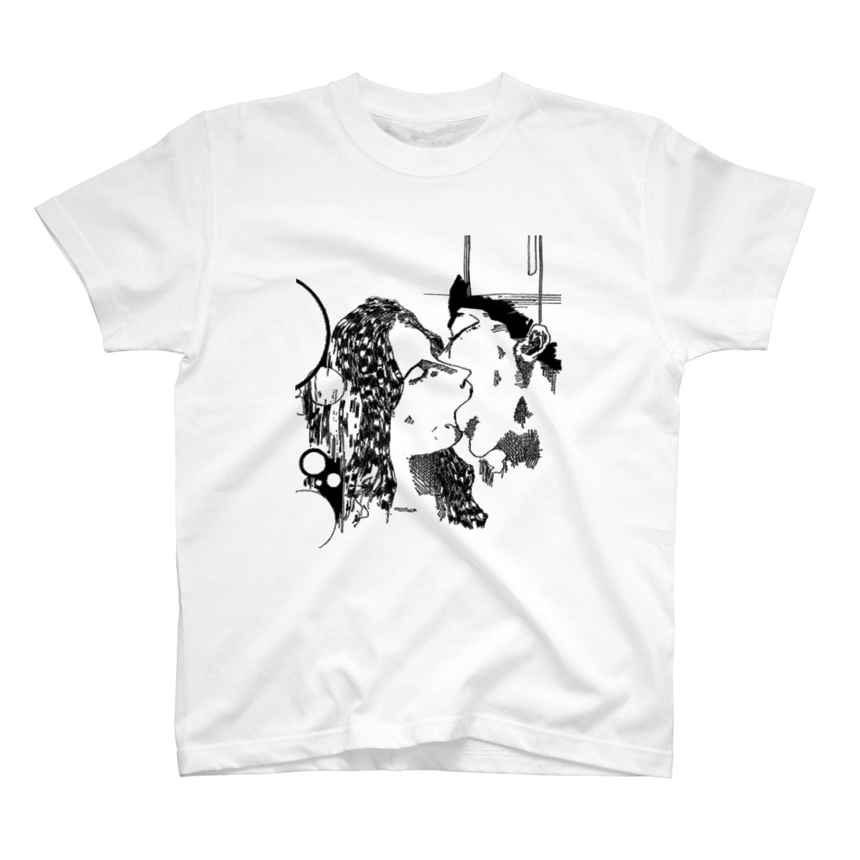 銀鈴堂のKISSKISSKISSKISS T-shirts