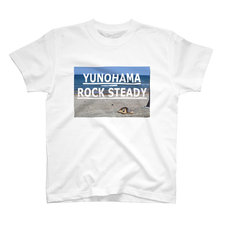 SANGOLOW WORKSのYUNOHAMA ROCK STEADY T-shirts