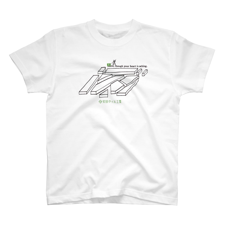 TRINCHの安田タイル工業設立83周年記念 T-shirts