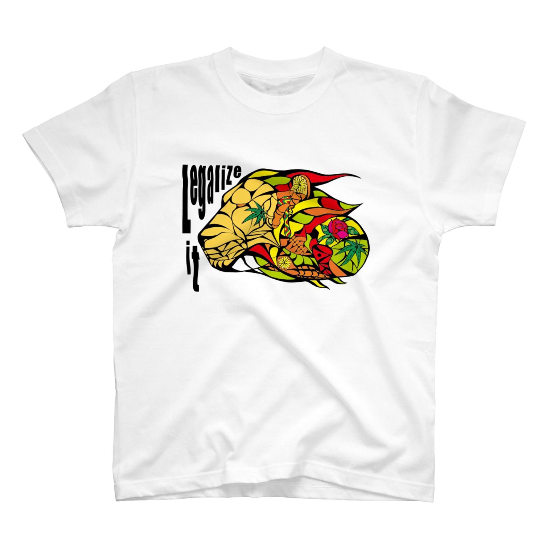 Legalize It ! のAKRstyle - JAH LION T-shirts