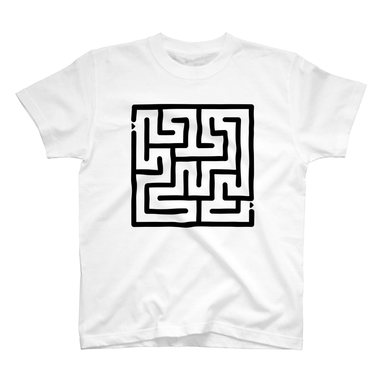 OFUNE's Marketの迷路 T-shirts