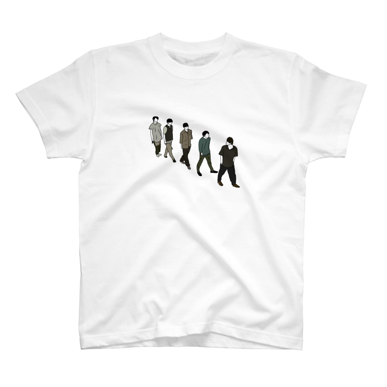 𝓜の♛︎♚ おさんぽ T-shirts