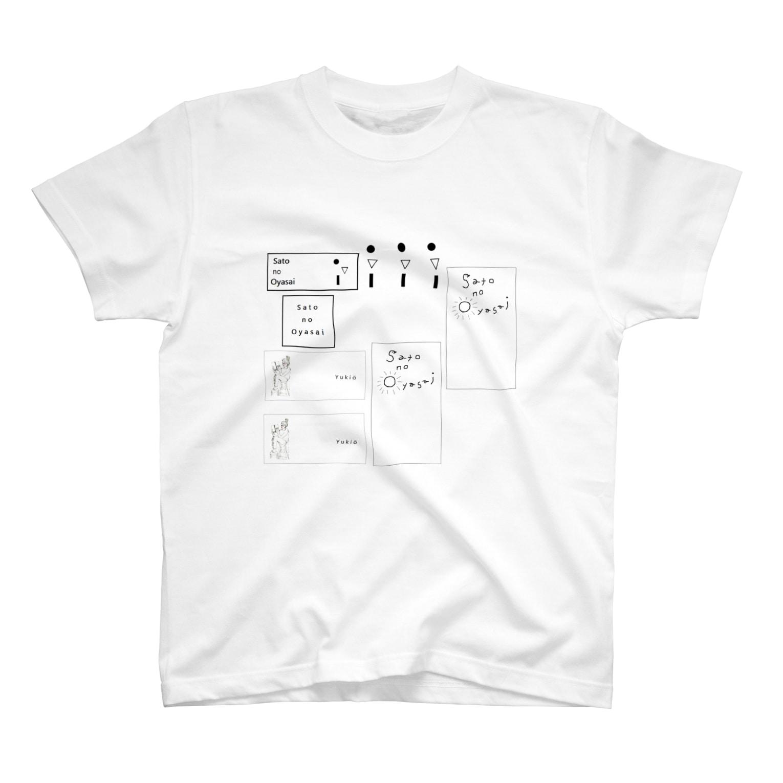 Yukioのラベルズ T-shirts