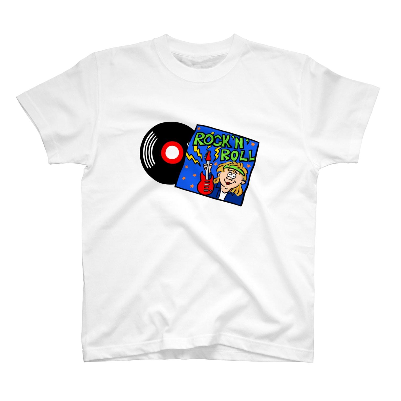 WANPAKU  HOUSEのROCK'N'ROLL T-shirts