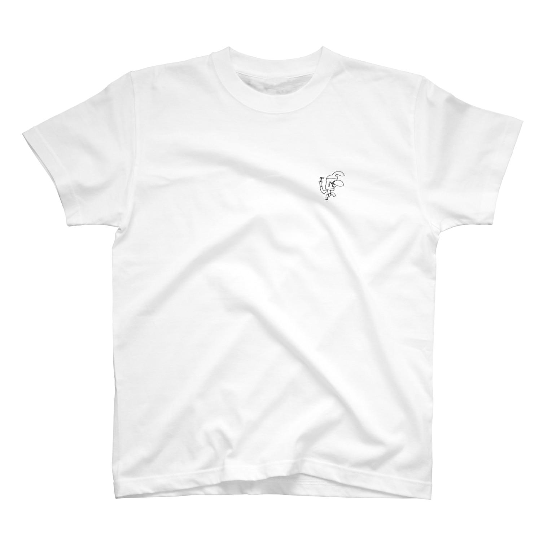 _e____tのこぶ剃りじいさん T-shirts