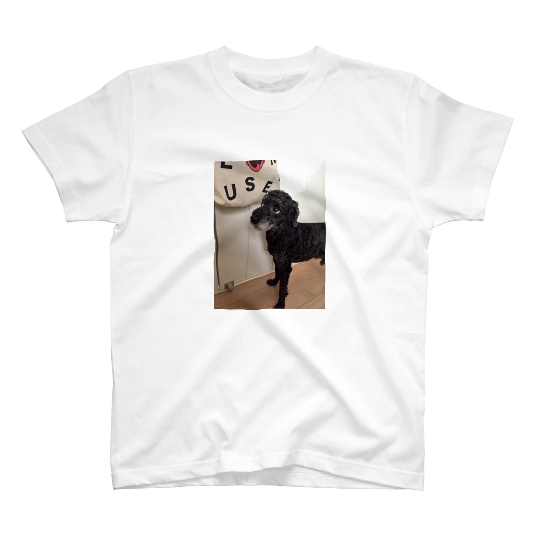 トイプードルの小力のよそ見小力 T-shirts