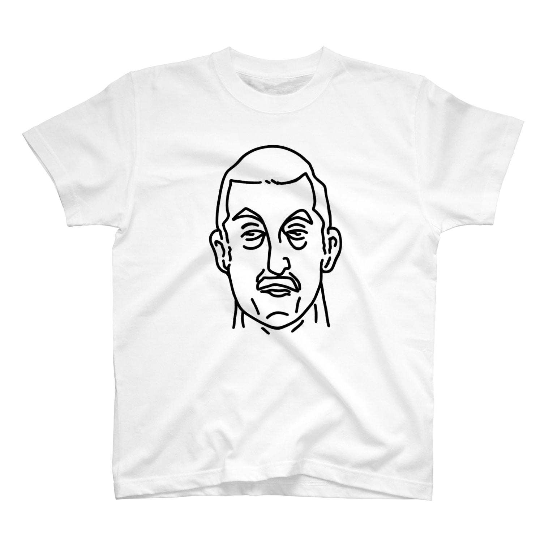 Aliviostaのプロレス 神様 2 イラスト 偉人アート T-shirts