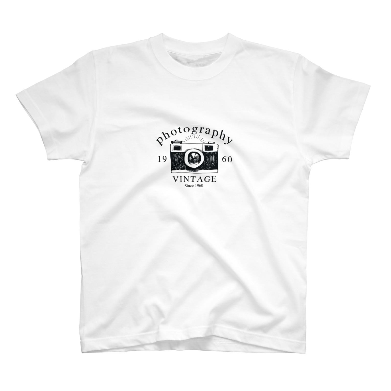 IZANAGIのレトロなカメラあ T-shirts