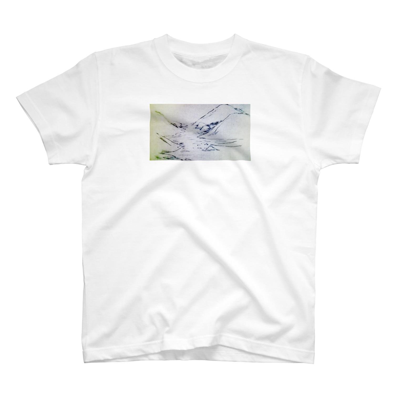 hentouの山と川 T-shirts
