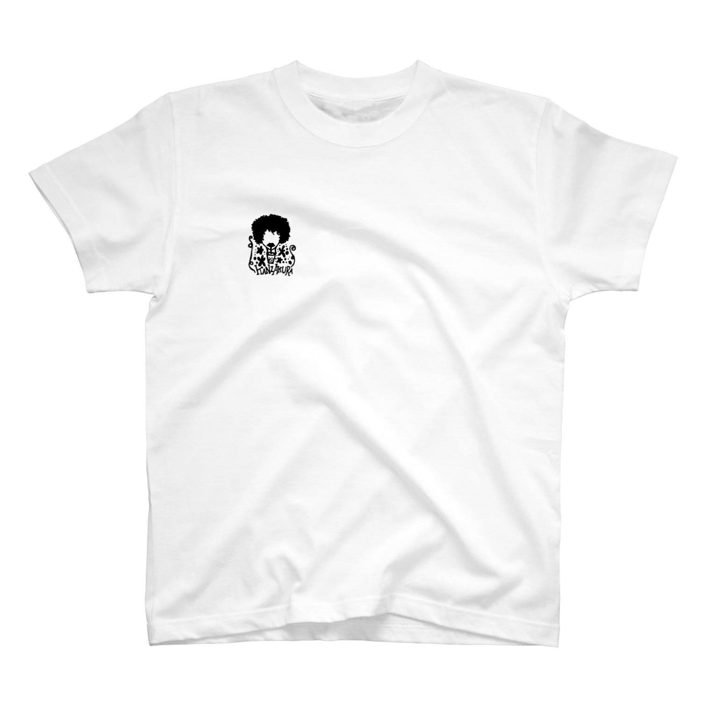 Niina217pのKANZAKURA goods T-shirts
