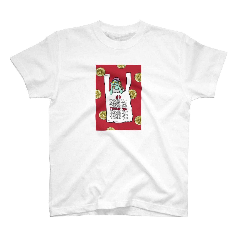 Rucolieのlemon T-shirts