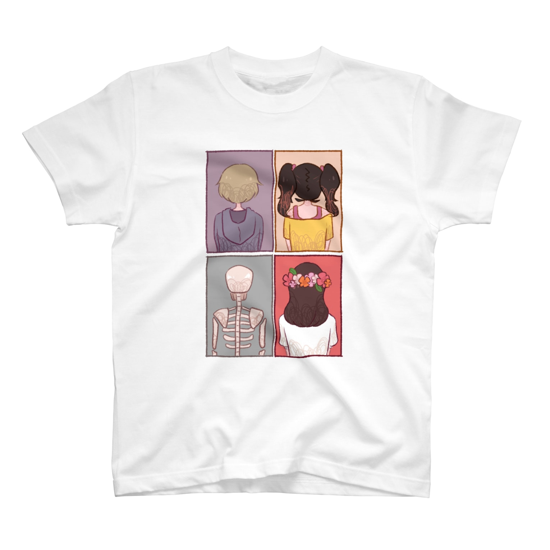 Cocohashop*の背中 T-shirts