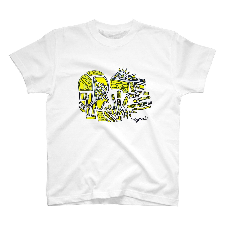 Sayuriの黄色 T-shirts