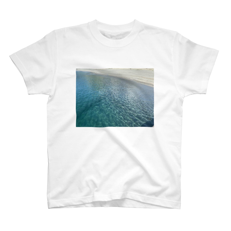 Aloma100の新島の海〜夏〜 T-shirts