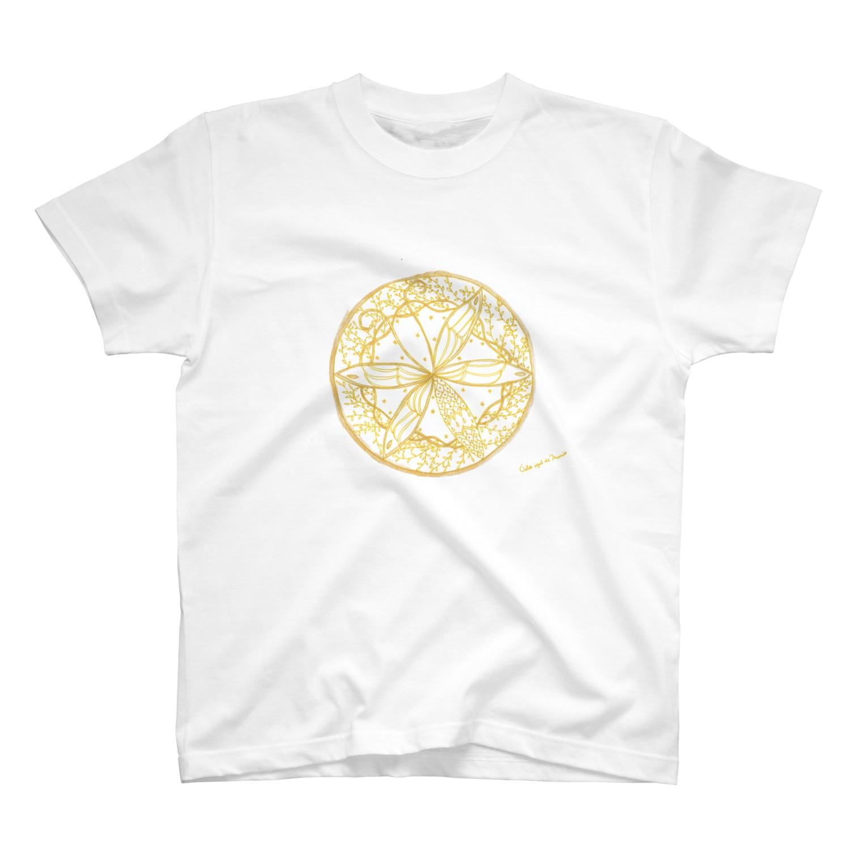 Cielo-azul-de-Mariaの夢を守る蝶 T-shirts