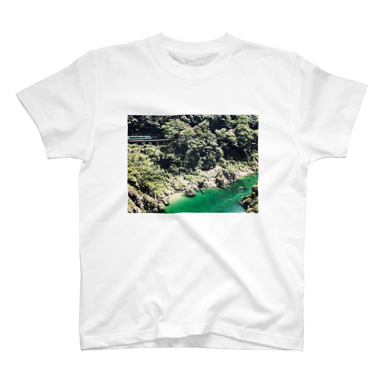 preppの秘境と列車 T-shirts