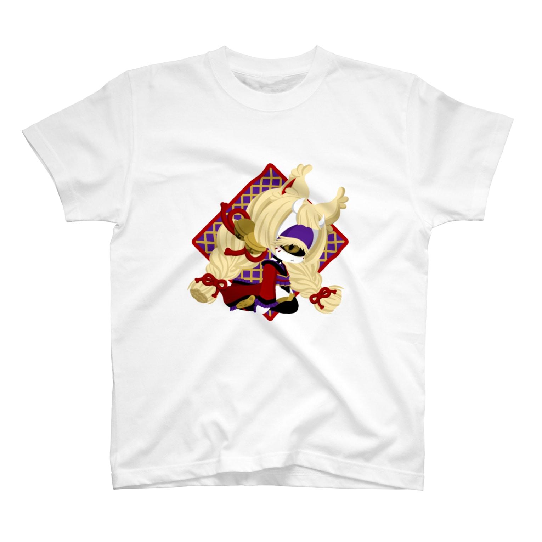 ChuchuPlanの【鬼狐】 T-shirts