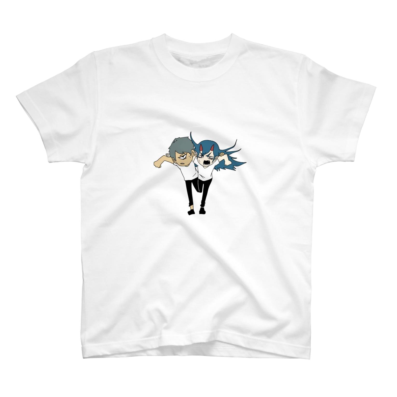rainbomの逃走クビシメ T-shirts