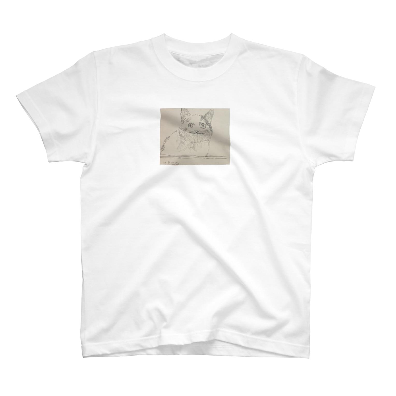 梅のneko T-shirts