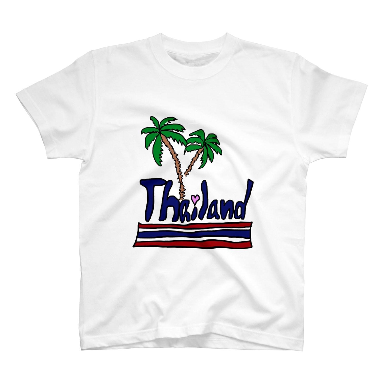 uwotomoの【THAILAND】 T-shirts