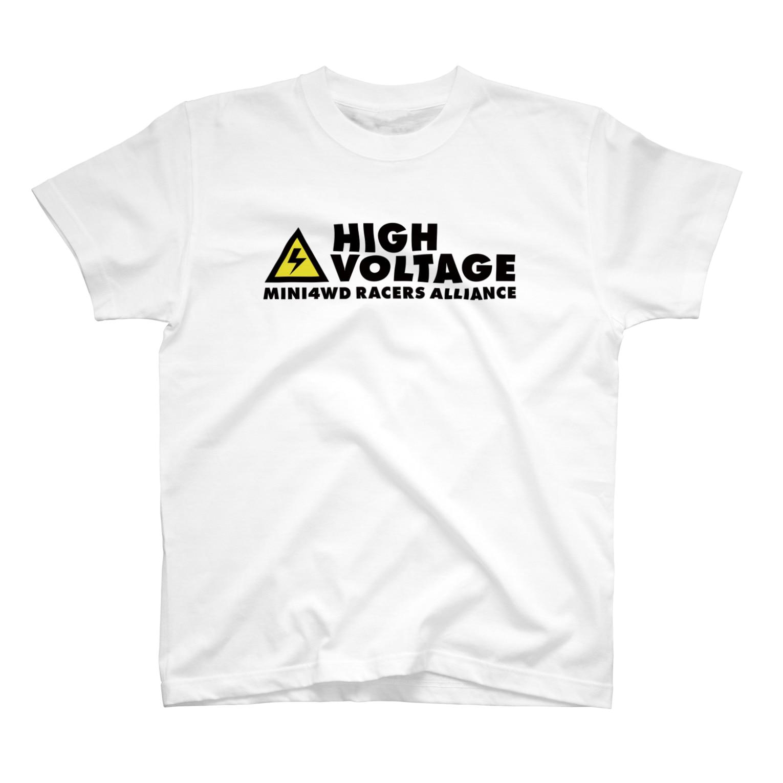 highvoltagewearsのロゴA T-shirts
