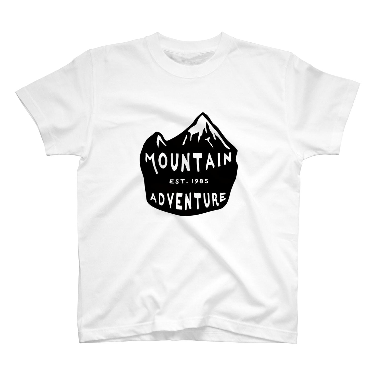 BASE-CAMPのBASE MOUTAIN 02 T-shirts