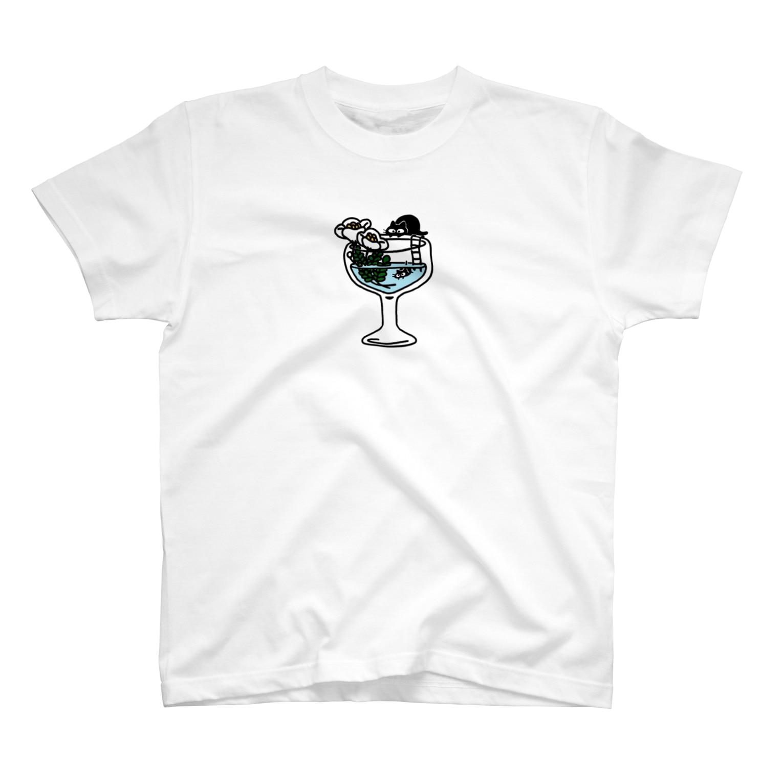 _mi8koのコップール T-shirts