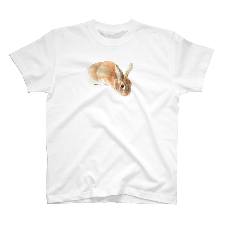 ヒラノマキコの2016.11月うさぎ T-shirts