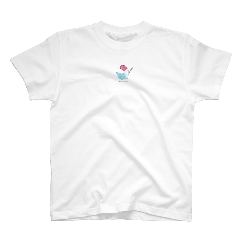 late_nakaのカキ氷 T-shirts