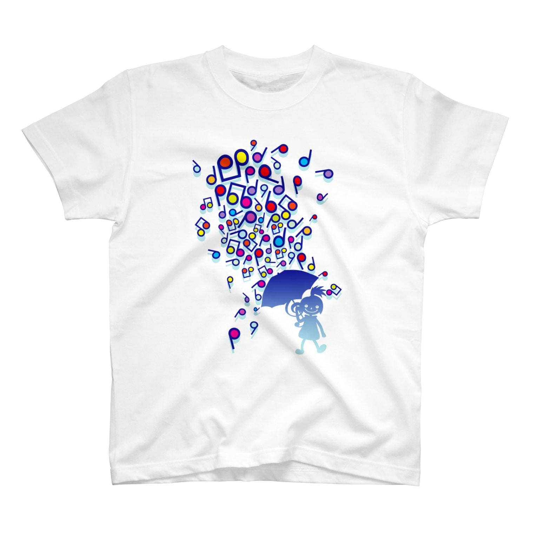 AURA_HYSTERICAのSingin' in the Rain T-shirts