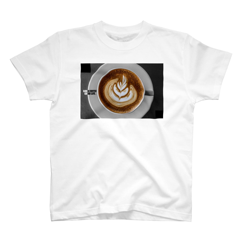 GoodRonのCoffee Latte  T-shirts