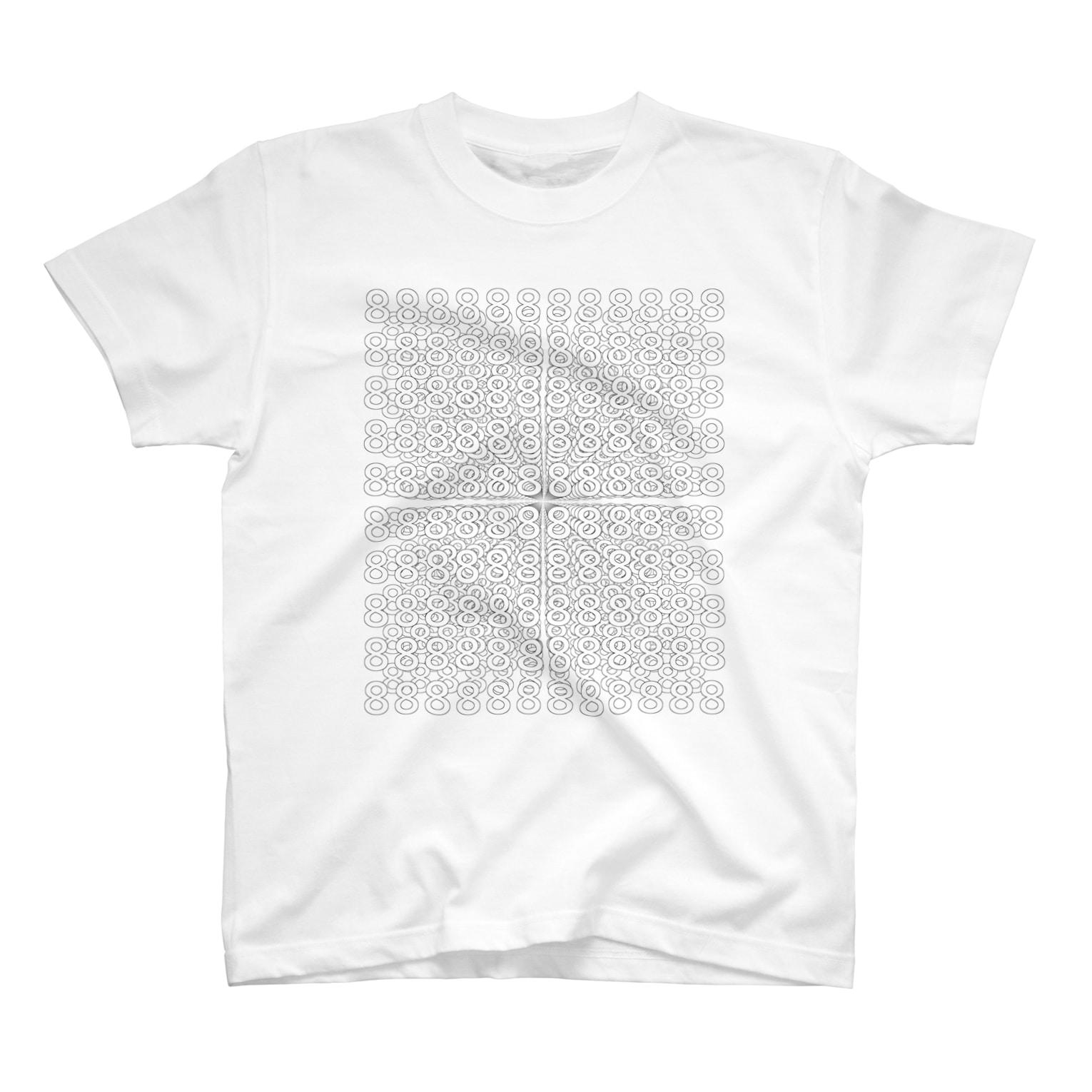 Tシャツ大喜利(なまえ)の8×∞ T-shirts