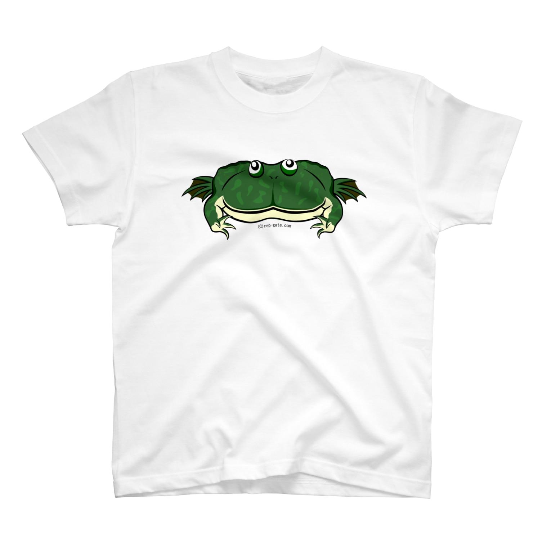 Dragon's Gateグッズのタピオカガエル両面Tシャツ T-shirts